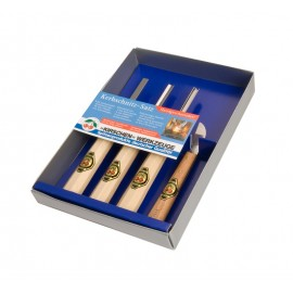Chip Carving Set of 4 pcs.