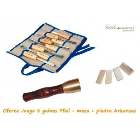 Oferta de Juego Ro12 + Maza de bronce + Piedras Arkansas