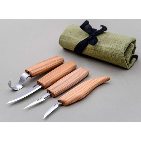 Juego completo de cuchillos de vaciado