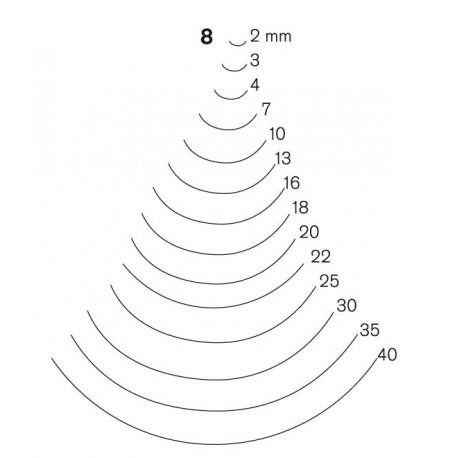 Gubia Pfeil forma 8