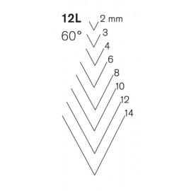 Sgorbie Pfeil sezione curva 12 L
