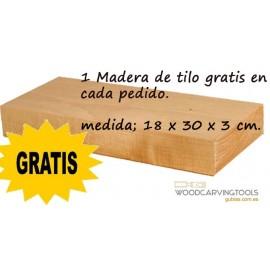 1 Maderas de Tilo Gratis POR 50 EUROS DE COMPRA (2 cerezas)