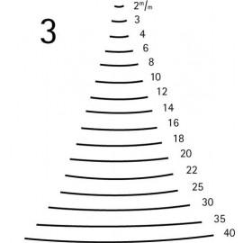 Gubia curvada corte 3 ref. 3112